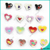 Enamel Heart Slider Charms for Lover Bracelet Charms (SC16040934)