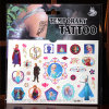 Hot Frozen Tattoo Sticker for Frozen Souvenirs