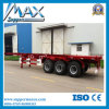 20FT Double Axle Flatbed Container Trailer Skeleton