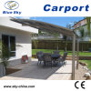 Modern Design Glass Roof Aluminum Carport (B800)