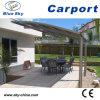 Modern Design Glass Roof Aluminum Carport (B800)