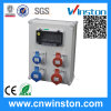 Plastic Power Combination Socket with MCB Box with CE