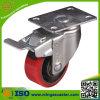 Total Brake Medium Duty PU Wheel Caster