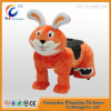 Coin Operated Kids Ride on Furry Animal Ride From China