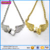 Fashion Alloy Angel Wing Necklace for Bulk Sale
