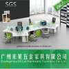 China High Quality Office Workstation Desk for 6 Seater