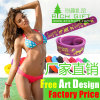 Custom Funny Eco-Friendly Silicone Snap Wristband Slap Bracelet