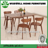 Cheap Wood Dining Room Table and Chairs Set