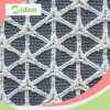 Textile Companies Cross Pattern Embroidery Heavy Cotton Lace Fabric