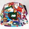 USA Popular Aztec Print 5 Panel Camper Strapback Cap