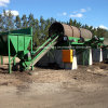 Compost Trommel Screen with High Efficient