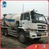 Japan 6*4-LHD-Steering Used Nissan Ud 6~8cbm/10~20ton PF6-Diesel-Engine Concrete Mixer Truck