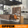 Oppein Luxury Wood Kitchen Cabinet with Sintered Surface Finish (OP16-SIN01)