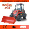 Everun 2017 New Pallet Forks 1 Ton Small Wheel Loader