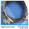 Wire Braided High Pressure Hydraulic Hose with SGS Certification