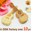 Music Gift Wooden Violin USB Flash Drive