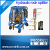 Hydraulic Cylinder Splitter on Demolition
