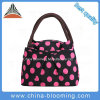 Fashion Colorful Polyester Cool Insulated Cooler Lunch Bag for Lady