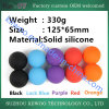Silicone Rubber Hollow Fitball Yoga