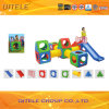 Indoor Kids′ Body Exercising Blocks Plastic Toys with Slide (PT-013)