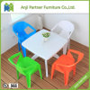 Garden Furniture Durable Outside Plastic Dining Table and Chair (Jerry)