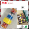 Gasblock (LBK) Connector (yellow ring) with Clips Diam. 12/8mm, Cable 3~6mm