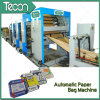 High Speed and Full Automatic Valve Paper Bag Production Machine