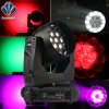 Zoom 19*15W LED Stage Lighting Moving Head Light with Fan-Temperature-Control