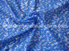 Silk Cotton Satin Stripe Printed Fabric