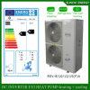 Evi Tech -25c Winter Floor Heating 100~350sq Meter Room 12kw/19kw/35kw Auto-Defrost Split Heat Pump DC Inverter Water Heater