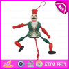 2016 Most Popular Kid Toy Wooden Puppet, Top Sale Wooden Pull Toy Puppet, Wholesale Wooden Hand Puppet W02A058f