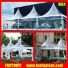 Clear Roof and Sides 6X6m Transparent Pagoda Canopy Tents for Event
