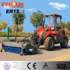 1.6ton Agricultural Wheel Loader Er15 with New-Designed Sweeper for Sale