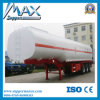 3 Axle 40m3 Oil Tanker / Fuel Tanker Semi Trailer