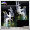 Indoor Mall Christmas Decoration 3D Motif Angle Light