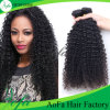 Natural Black Human Remy Soft Bouncy Double Weft Brazilian Kinky Curly Human Hair