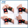 Custom Logo Cotton Wrist Support Sports Protector Sweatband