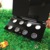 Modern Empty Acrylic Eyeshadow Holder with Aluminum Plate