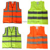 Factory Safety Uniform Vest with Hi Visibility Reflective Tape