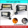 LED Light Bar with White&Amber Color Offroad Fog Light