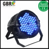 High Power 72X 3W Waterproof LED PAR Light/ IP65 Outdoor Stage LED PAR Lighting