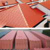 Colorfast Plastic Spanish Roof Tile