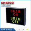 Double Colors Safety Sw Method Indoor Illuminated Sign