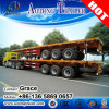 Factory Cheap Price 40t Flatbed Container Truck Trailer