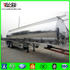 2 Axle Aluminum Diesel Fuel Tank Oil Transport Tank Semi