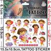 Wholesale Temporary Kids Dora Tattoo Sticker (cg071)
