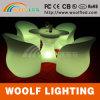 LED Luminous Bistro Pub Restaurant Sofa Chair