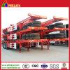 3 Axle 40tons Platform Skeletal Container Semi Truck Semitrailer Trailer