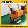 Honda Gx160 Walk-Behind Single Drum Vibratory Roller with Top Quality