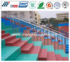 Durable Decorative Polyurea Coating for Stadium Square